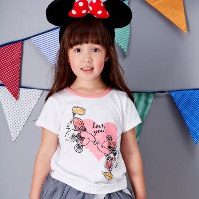 Disney 米妮米奇系列甜心T恤 (共2色)
