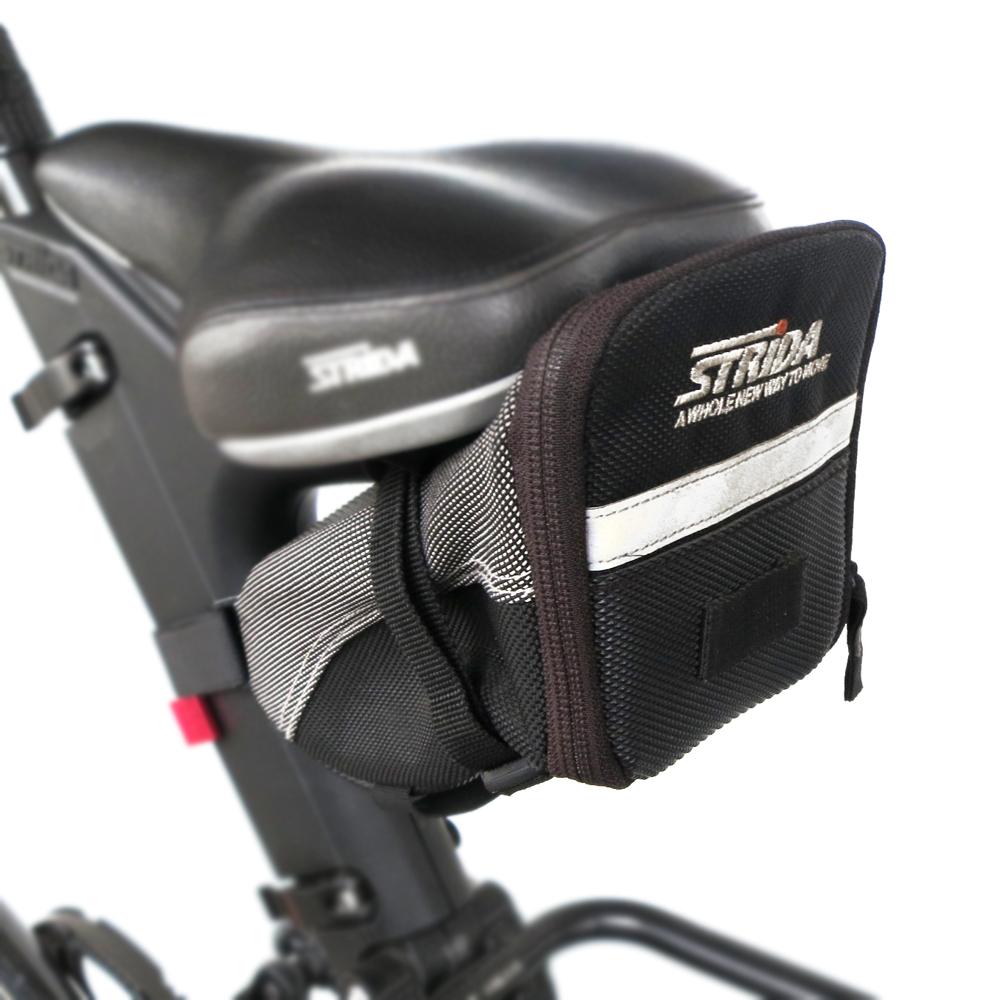 【STRIDA】反光座墊袋-黑