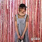 gozo 透視網狀圓領上衣(二色)