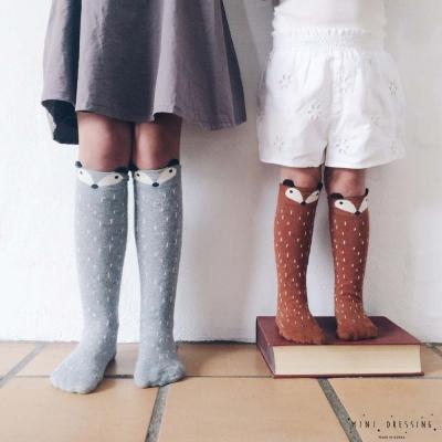 韓國 Mini dressing 狐狸動物長襪