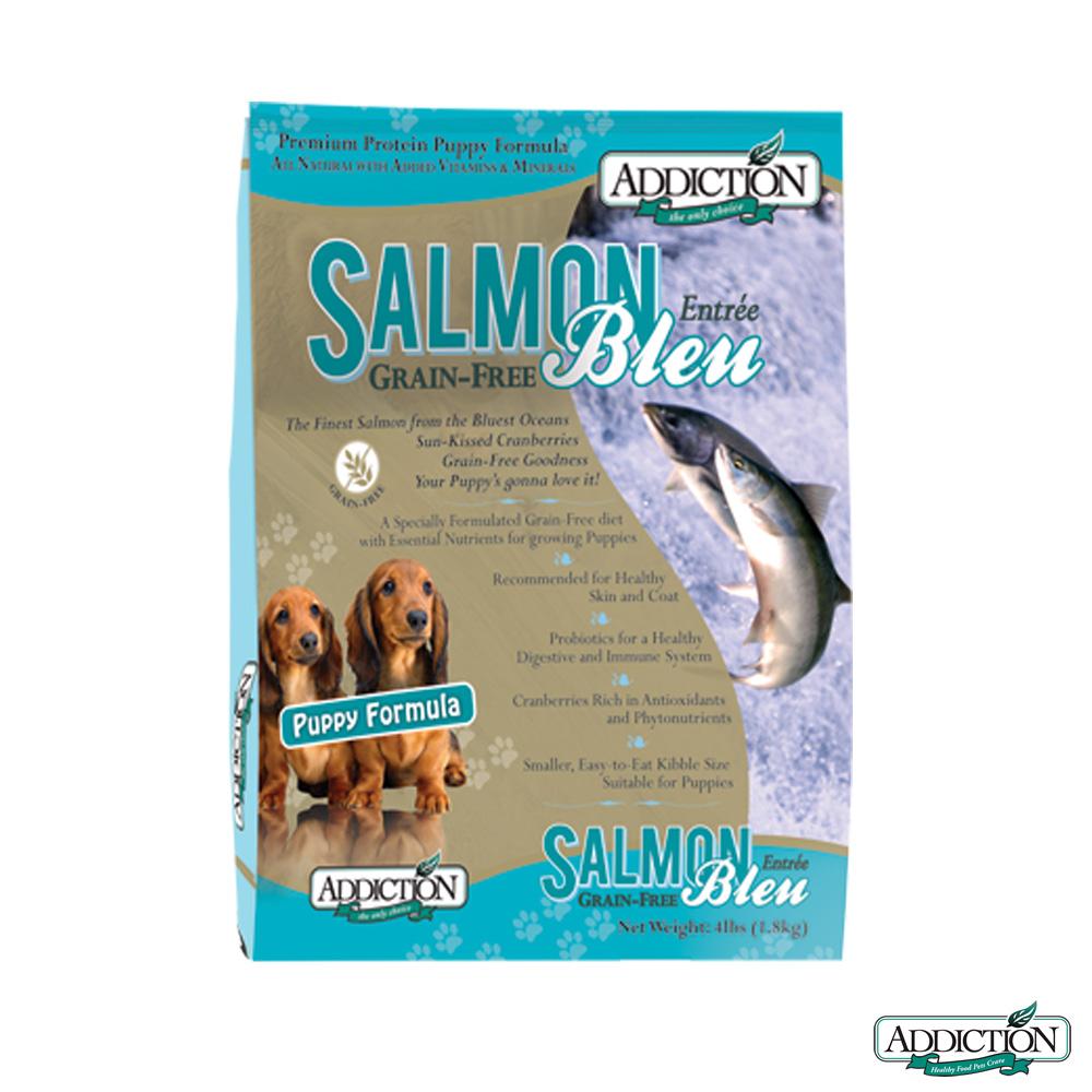 Addiction自然癮食 無穀藍鮭魚寵食 幼犬 1.8公斤