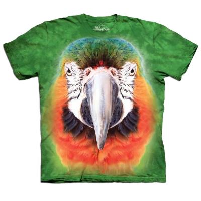摩達客 美國進口The Mountain鸚鵡臉 純棉短袖T恤