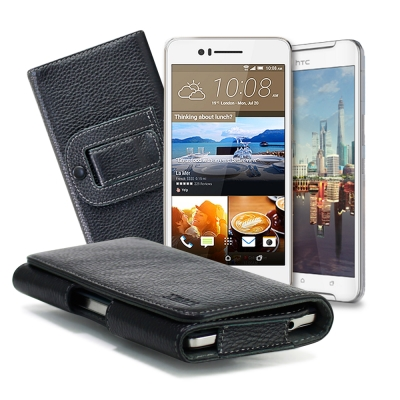 X mart HTC One X 9  / Desire  728  麗緻真皮腰掛皮套