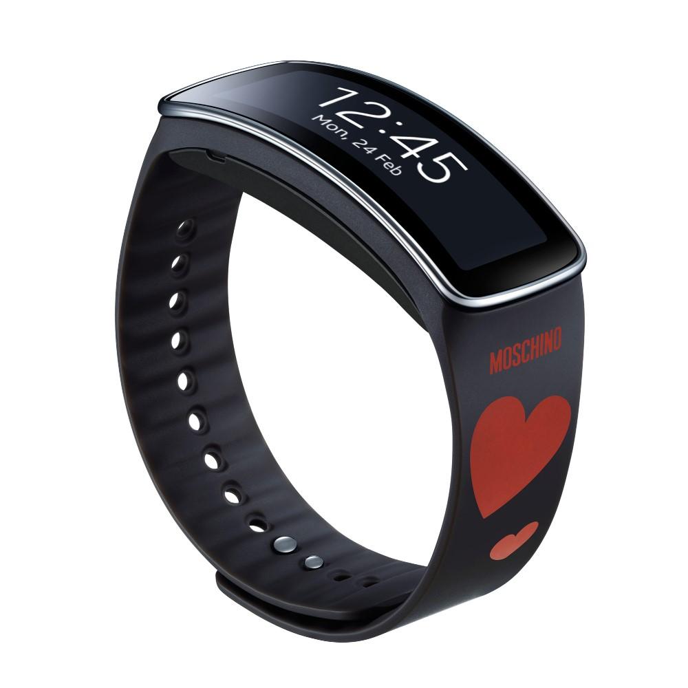 Samsung Gear Fit  Moschino愛心版原廠時尚錶帶(本商品不含主機)