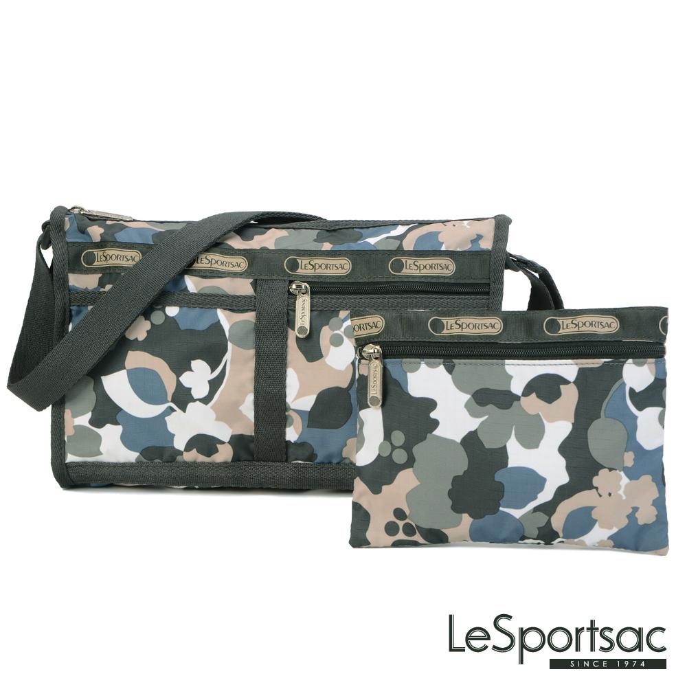 LeSportsac - Standard雙口袋斜背包-附化妝包(生存遊戲)