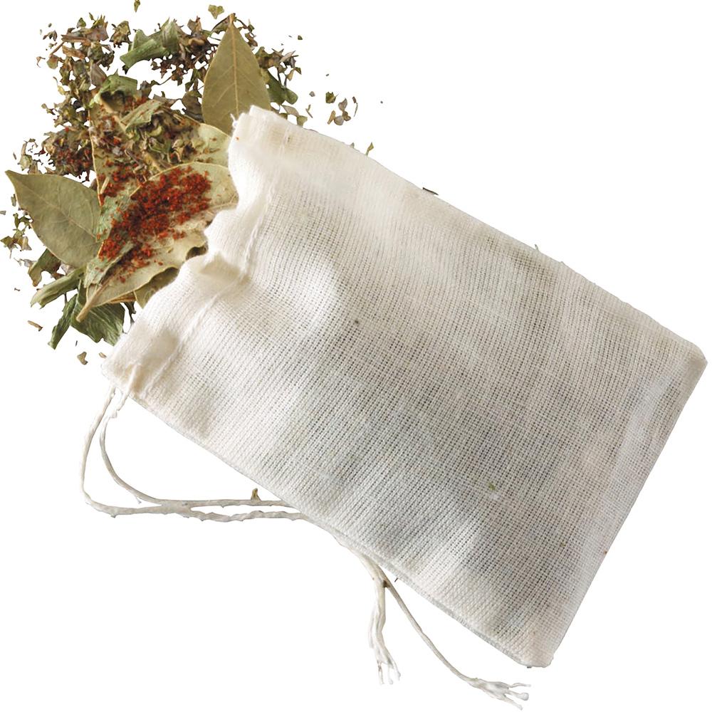 KitchenCraft 棉製香料燉煮袋4入