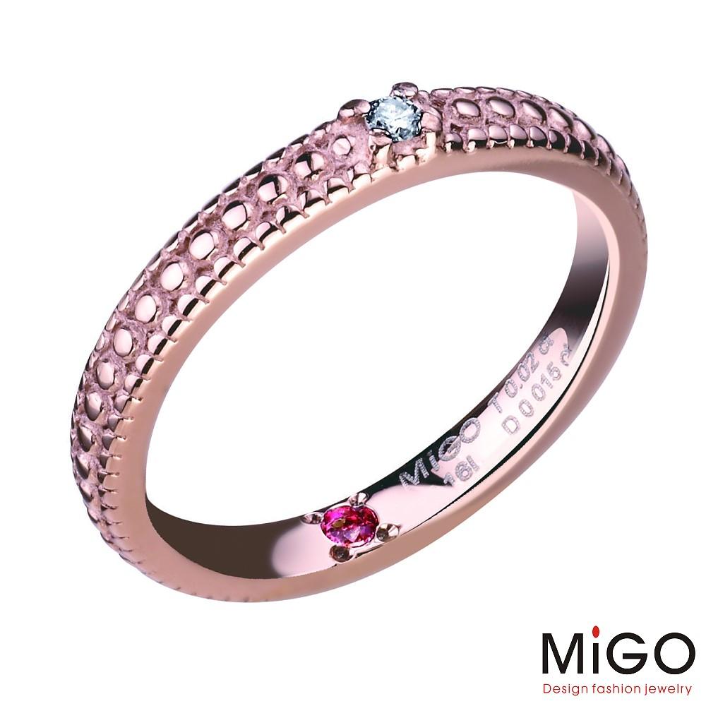 MiGO-熱情尾戒(玫瑰)