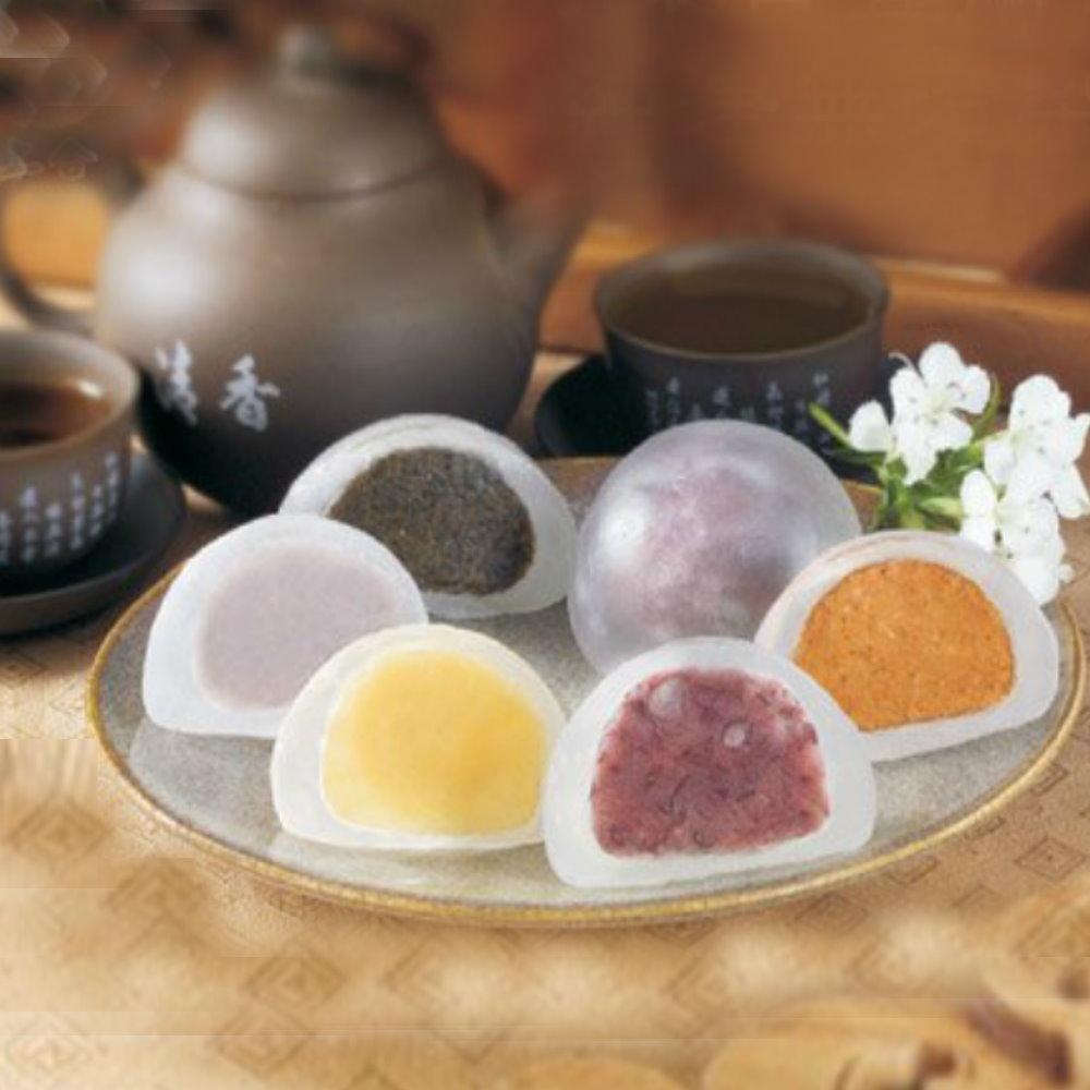 【宜蘭上合】水晶麻糬/15入裝(綜合口味)x3盒