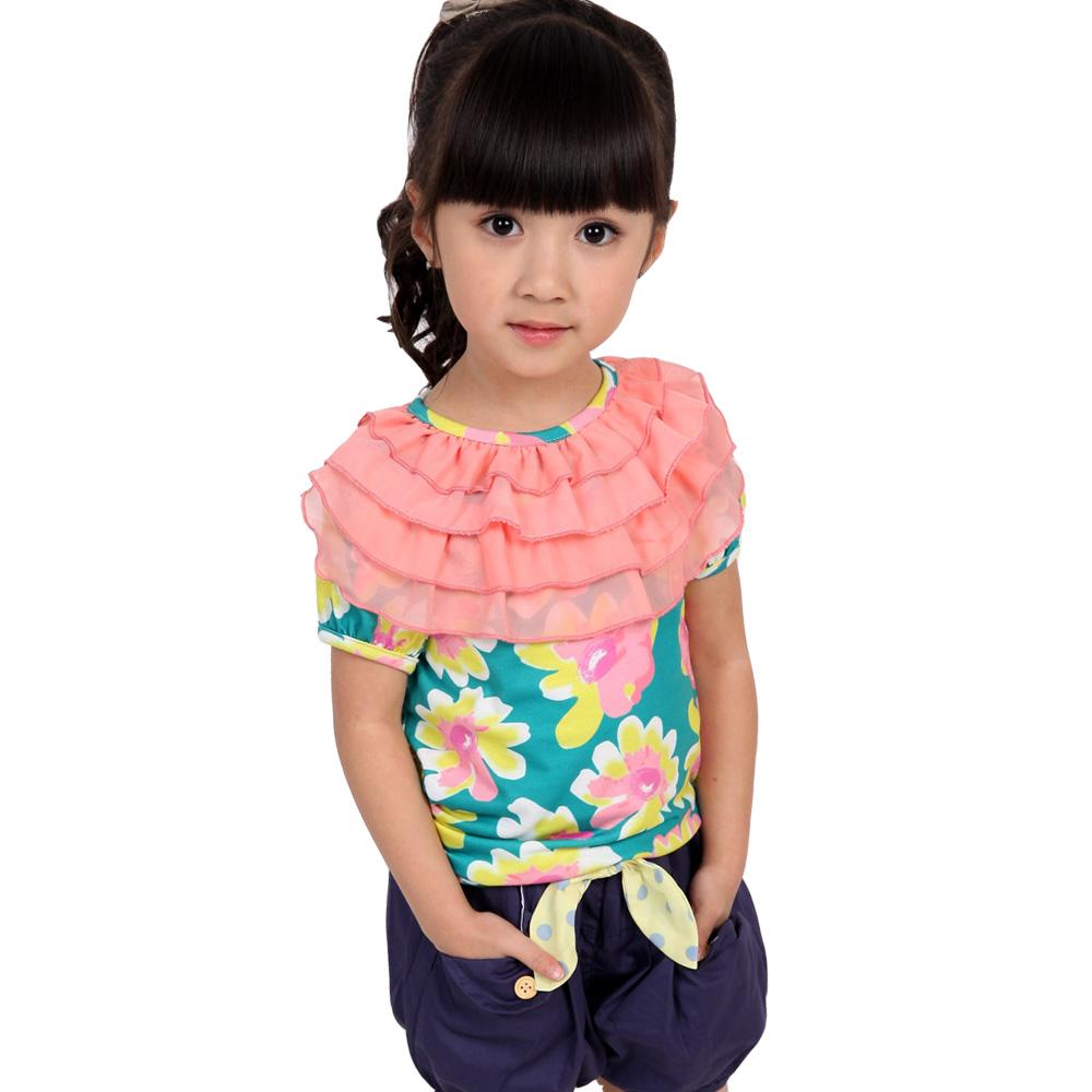 魔法Baby 韓版女童潮流上衣 k34295