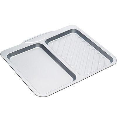 KitchenCraft 雙格不沾烤盤(40cm)