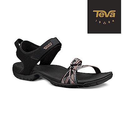 TEVA 美國 女 Verra 多功能運動涼鞋 彩灰黑