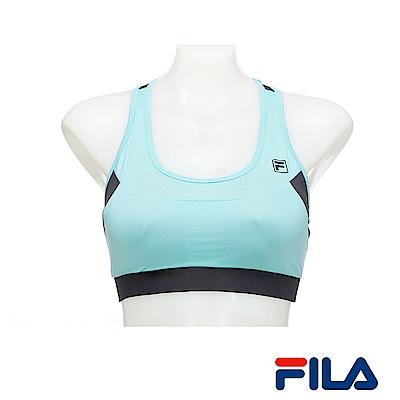 FILA女性單穿網紗背心(藍綠)5TKR-1609-TG