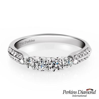 PERKINS 伯金仕 - 夏綠蒂系列 0.47克拉鑽石戒指