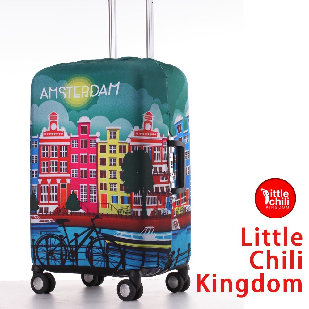LittleChili行李箱套522-阿姆斯特丹彩M