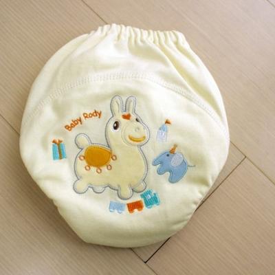 GMP BABY RODY 寶寶超吸排純棉紗學習褲-黃