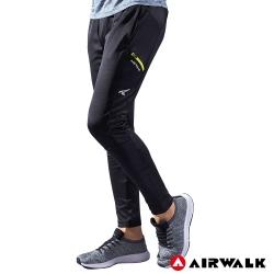 【AIRWALK】男款剪接運動長褲-共兩色