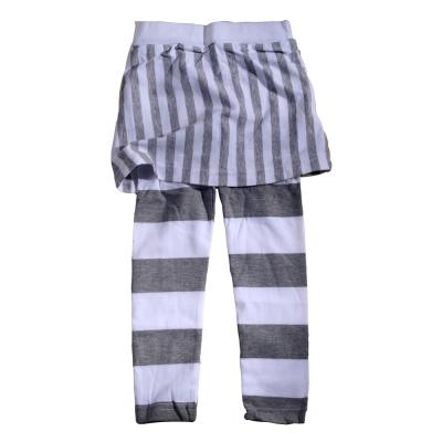 魔法Baby~俏皮合身森林系自然條紋裙褲~k26764