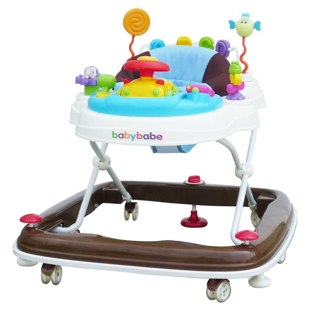 BabyBabe 360°旋轉靜音嬰幼兒學步車