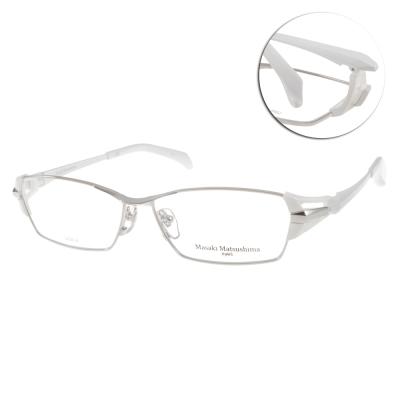 Masaki Matsushima眼鏡 日本製/銀-白#MF1182 COL1