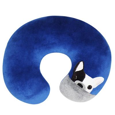 Yvonne Collection狗狗頸部抱枕-深藍R