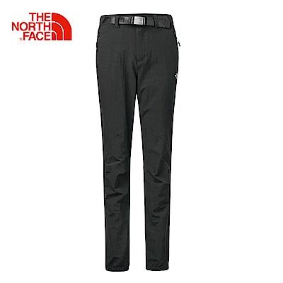 The North Face北面女款黑色吸濕快乾休閒長褲