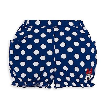 Disney 米妮系列圓點荷葉球型短褲 (2色可選)