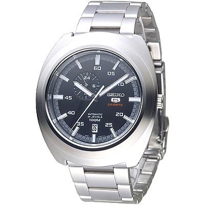 SEIKO 頂尖對決5號24石自動機械錶(SSA281K1)-黑/45mm