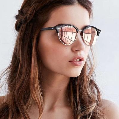 RayBan太陽眼鏡 經典品牌/黑銀-粉水銀#RB4246F 1197Z2