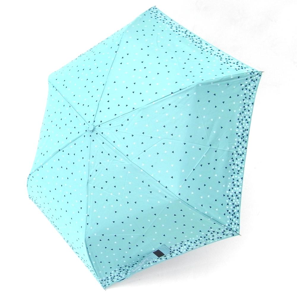 好傘王 手開傘_繽紛愛心鋼筆傘(水藍色)