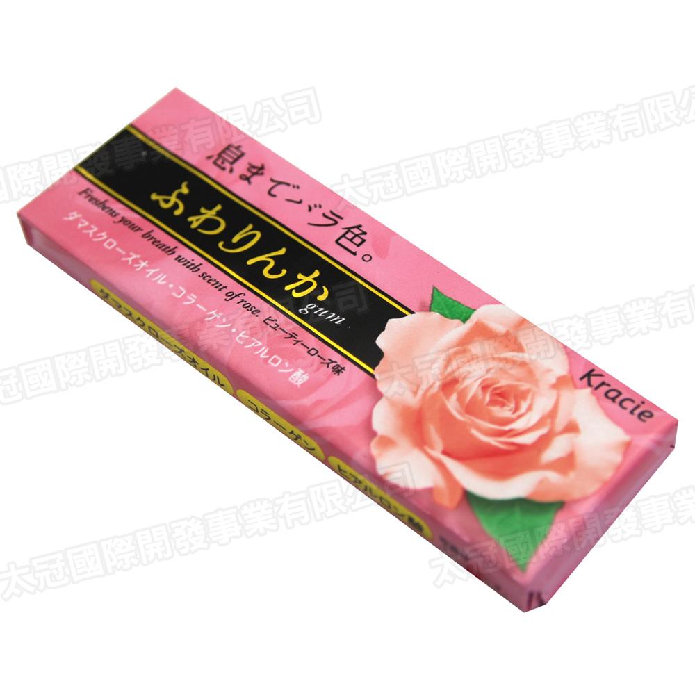 Kracie 玫瑰花香口香糖(19gx2條)