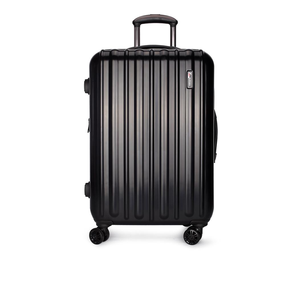 SUMDEX鏡面行李箱/登機箱20吋(黑色) SWR-783BK