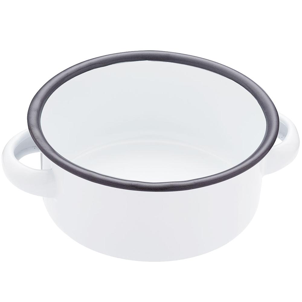 KitchenCraft 復古琺瑯雙耳濃湯碗(11cm)