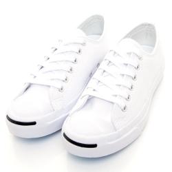 CONVERSE-M系列開口笑女休閒鞋-白