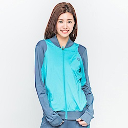 【TOP GIRL】立領修身休閒外套-中綠