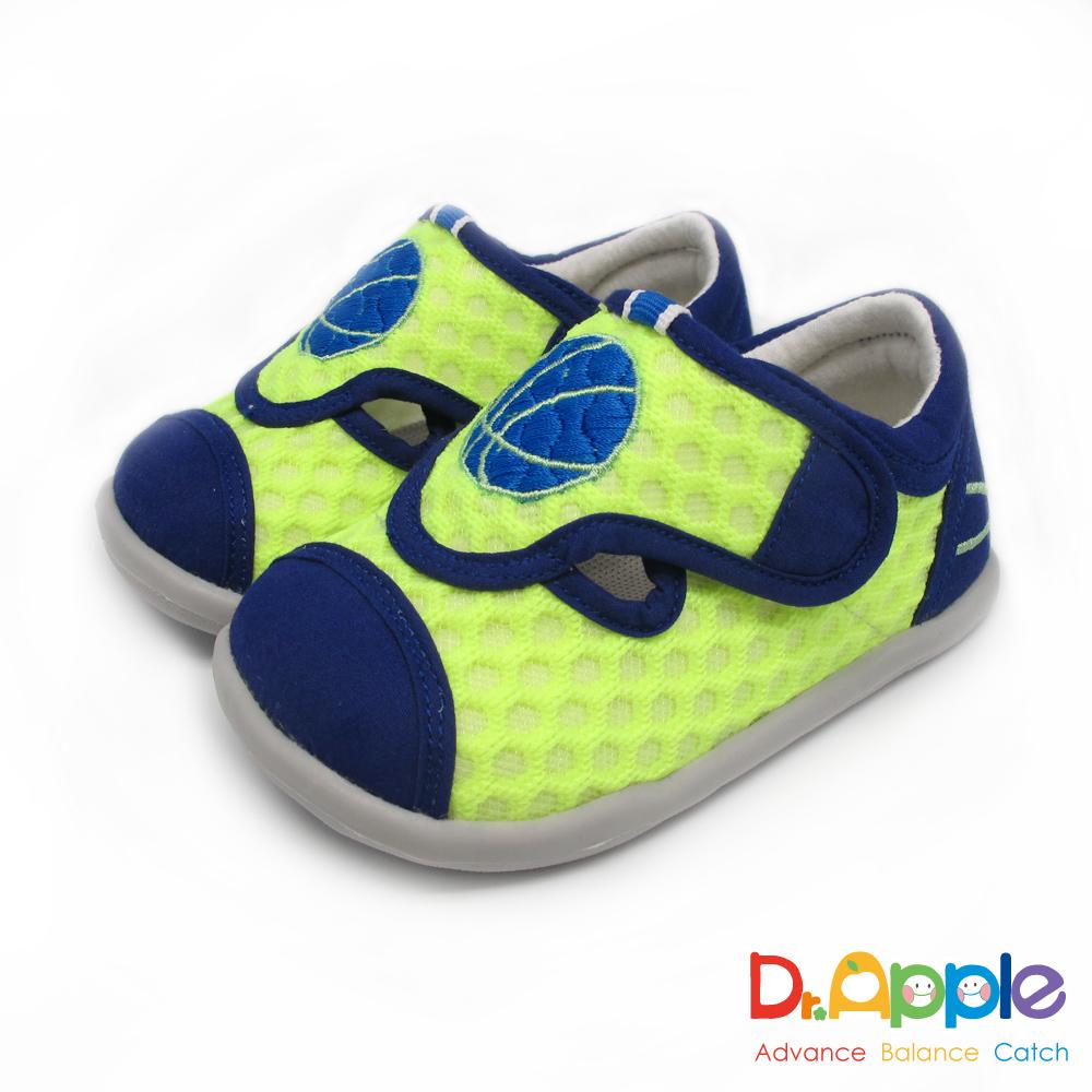 Dr. Apple 機能童鞋 一起玩吧!熱血籃球休閒小童涼鞋款 綠