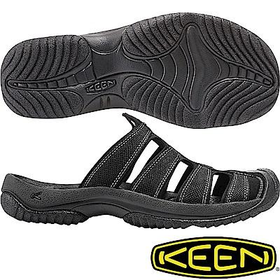 KEEN 1016792黑色 Aruba II 男運動護趾拖鞋