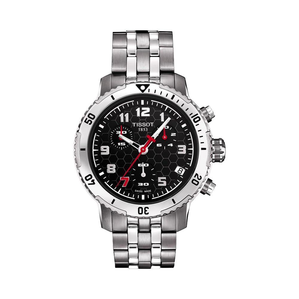 TISSOT PRS 200 Michael Owen 2012 限量計時腕錶-42mm