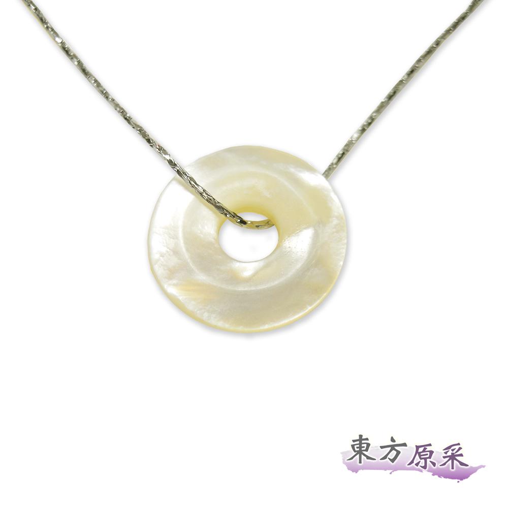 東方原采-自然系圓滿貝殼項鍊