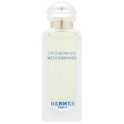 HERMES愛馬仕  地中海花園淡香水7.5ml無盒版+隨機針管香水一份