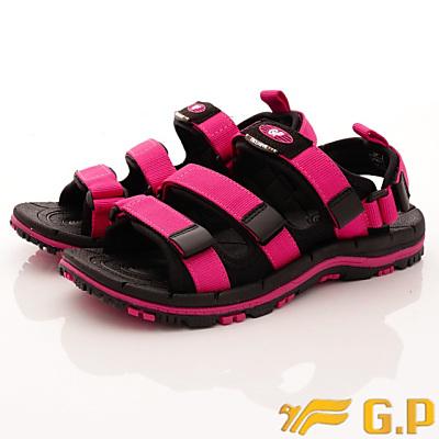 GP時尚涼拖-兩穿排水涼鞋-GSE656W15黑桃粉(女段)