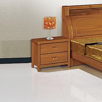 AS-愛德華實木床頭櫃-61x45.5x54cm