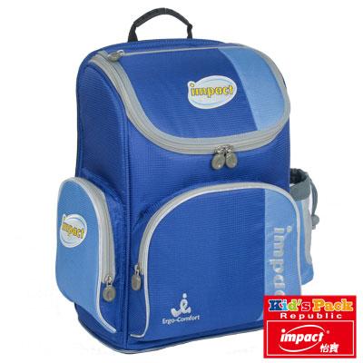IMPACT-怡寶標準型舒適護脊書包-寶藍 IM0052ARB