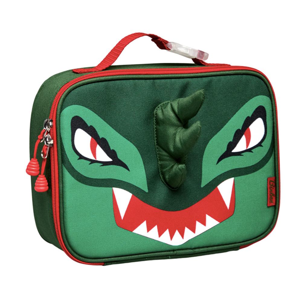 美國Bixbee - 3D動物童趣系列英勇綠恐龍保溫提袋