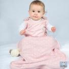美國 Woolino 頂級羊毛嬰兒防踢被睡袍 ( 粉紅點點 )
