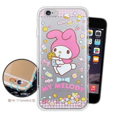 三麗鷗 My Melody iPhone 6s/6 4.7吋 空壓氣墊手機殼(糖...