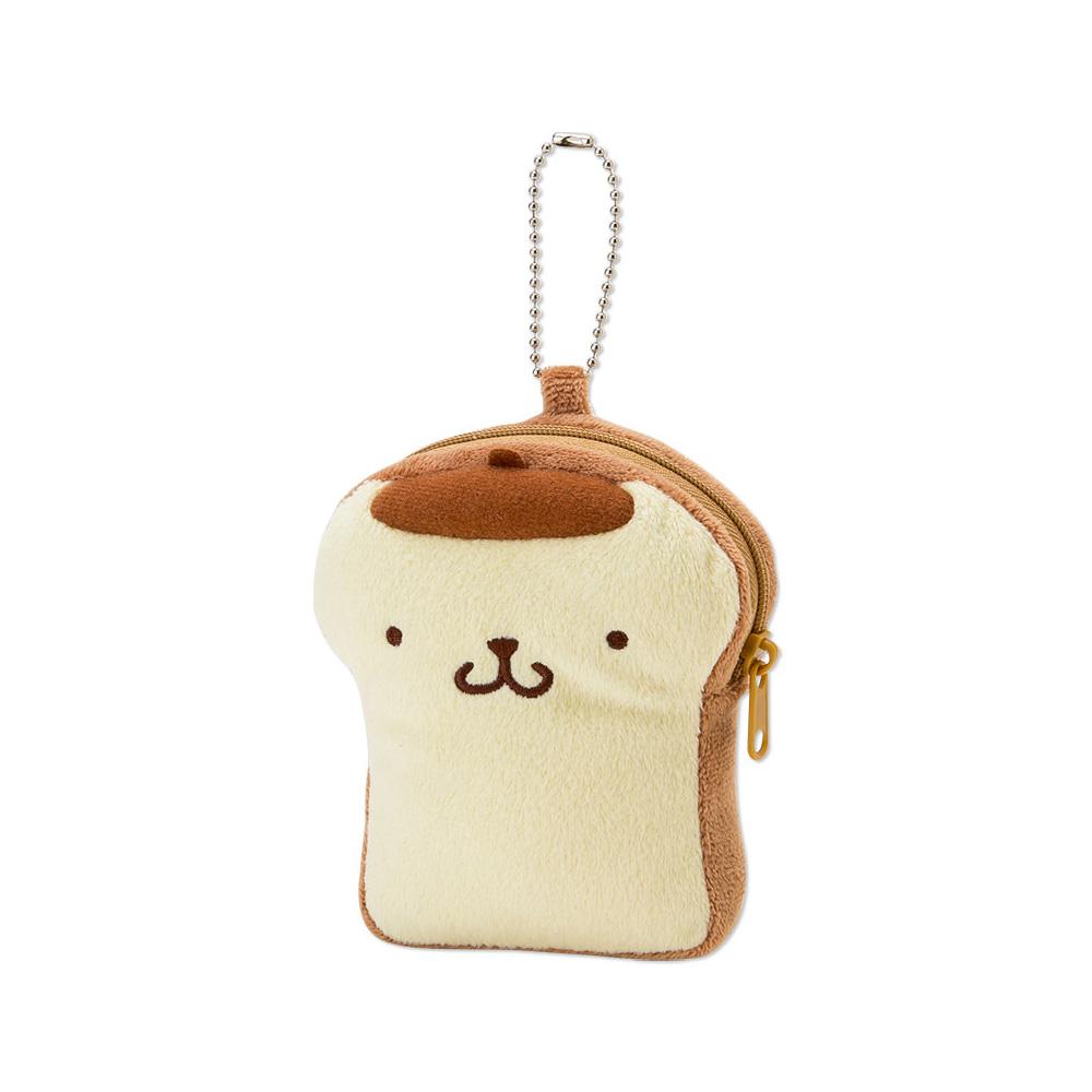 Sanrio布丁狗貪吃麵包店系列吐司造型票夾零錢包