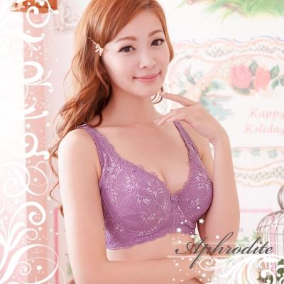 內衣 提托包覆大罩杯內衣 EF(2件)(夢幻紫) 艾芙洛