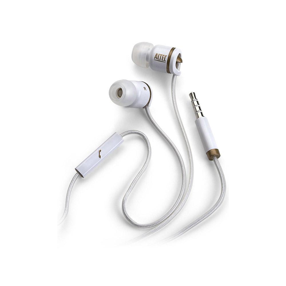 Altec Lansing MZX206 抗噪耳機麥克風 (白色)