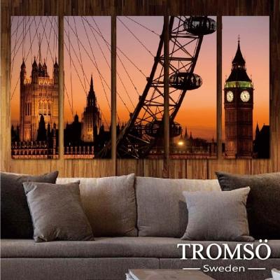 TROMSO時尚無框畫-輝煌英倫 (5件1幅)