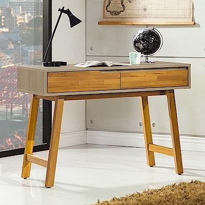 AS-巴倫實木3.5尺書桌-106x54x79cm